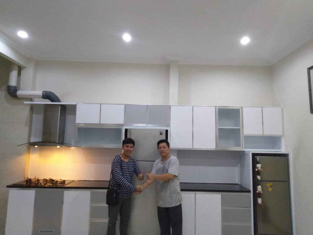 Kitchen Set Aluminium 100 Composite Panel Harga Nego